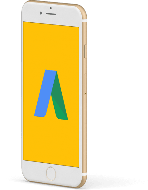 Consulta sul display dello smartphone gli annunci della tua campagna adwords